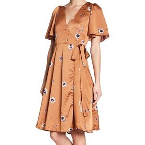 ASTR The Label Wrap Dress
